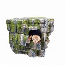 """Zilla Aquariam D?cor Vertical Rock Cave 8.75"""" x 5.875"""" x 7.25"""""""