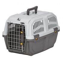 Midwest Skudo Pet Travel Carrier Gray