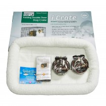 "Midwest iCrate Dog Crate Kit Medium 30"" x 19"" x 21"""