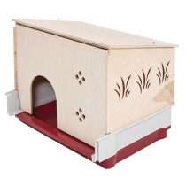 "Midwest Wabbitat Deluxe Rabbit Home Wood Hutch Extension Wood 37"" x 19"" x 20"""