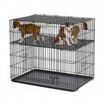 Midwest Puppy Playpen with Plastic Pans