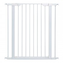 "Midwest Glow in the Dark Steel Pressue Mount Pet Gate Tall White 29.5"" x 38"" x 29.88"""