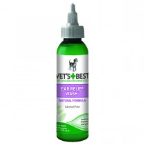 "Vet's Best Dog Ear Relief Wash 4oz Green 1.5"" x 1.5"" x 6.5"""