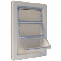 "Ideal Pet Products Air-Seal Pet Door Extra Large White 2.25"" x 13.75"" x 18.62"""