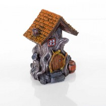"BioBubble Decorative Woodland House 4.5"" x 4"" x 5.5"" - BIO-60191800"