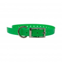 "The Buzzard's Roost Replacement Collar Strap 3/4"" Neon Green 3/4"" x 24"""