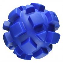 "Hueter Toledo Soft Flex Bumby Ball Dog Toy Blue 7"" x 7"" x 7"""
