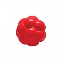 "Hueter Toledo Soft Flex Molecule Dog Toy Red 5.5"" x 5.5"" x 5.5"""