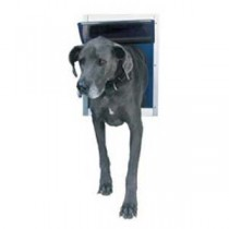 "Ideal Pet Products Deluxe Aluminum Pet Door Super Large White 2.12"" x 17.68"" x 23.62"""