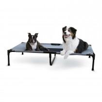 """K&H Pet Products Original Pet Cot Extra Large Gray 32"""" x 50"""" x 9"""""""