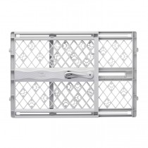 "North States Paws Portable Pressure Petgate Gray 26"" - 42"" x 23"""