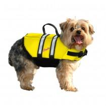 Pawz Pet Products Nylon Dog Life Jacket Yellow