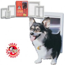 "Ideal Pet Products Designer Series Pet Door Small Gray 2.12"" x 7"" x 10.62"""