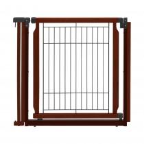 "Richell Convertible Elite Additional Door Panel Cherry Brown 33.9"" x 1.4"" x 31.5"""