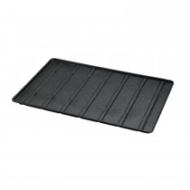 "Richell Expandable Floor Tray Small Black 37""-62.2"" x 24.8"" x 1"""