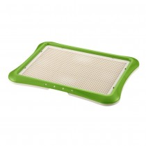 "Richell Paw Trax Mesh Training Tray Green 25.2"" x 18.9"" x 1.6"" - R94554"
