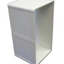 """Ideal Pet Products Ruff-Weather Wall Kit Medium Gray 1.5"""" x 7.75"""" x 7.75"""""""