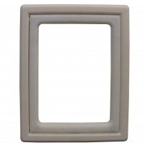 "Ideal Pet Products Screen Fit Pet Door Medium White 0.44"" x 10.63"" x 12.63"""