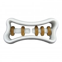 "Starmark Dog Treat Ringer Bone White 6"" x 3.75"" x 2"""